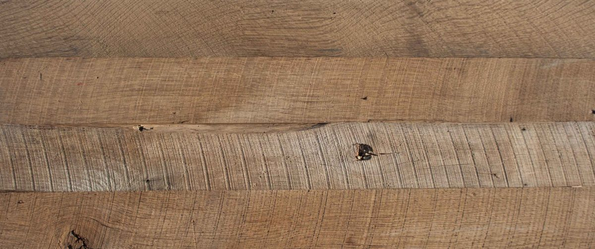 Reclaimed Wire-Brushed Oak Paneling