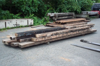 Reclaimed Wood Joists From 1 Hanson Street In Boston Machusetts - Reclaimed Wood Boston - Wood Boring Insects