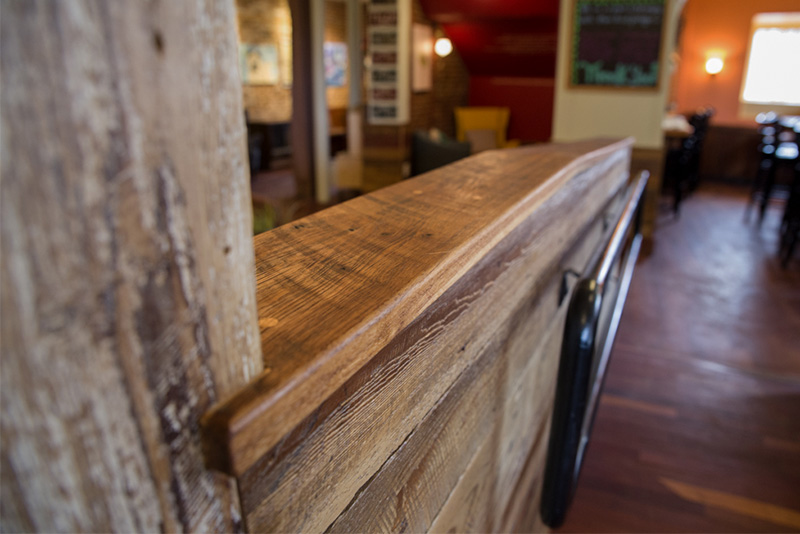 Reclaimed Wood, Cafe and Bakery, Gloucester, MA