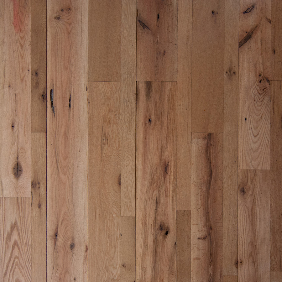 Reclaimed Red and White Oak with Water-Based Polyurethane Finish
