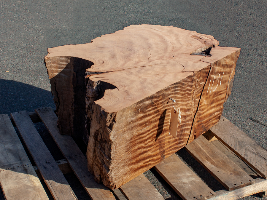 Salvaged Redwood Base Number 1131