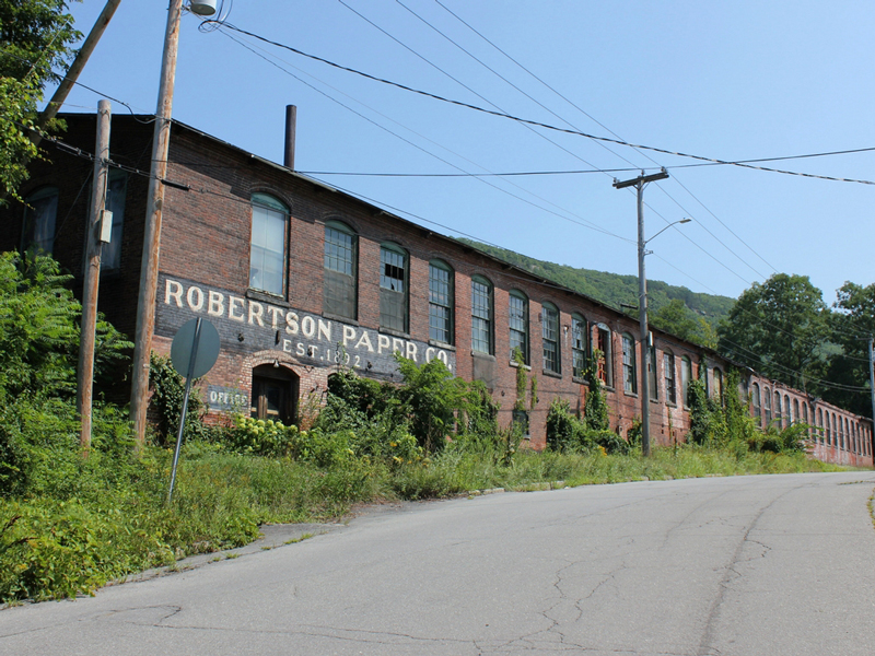 Robertson Paper Company in Bellows Falls, Vermont 2018