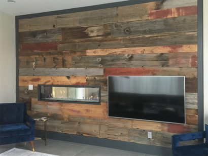 Longleaf Lumber Salvaged Barn Board Wall Paneling
