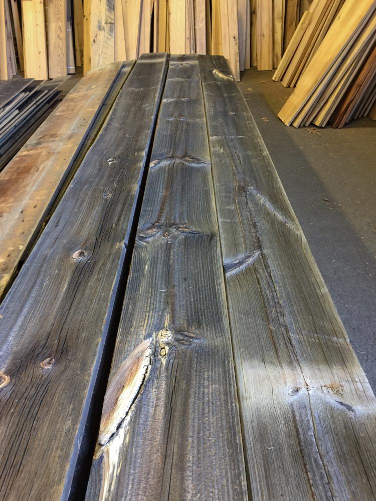 Salvaged Gray Barn Board