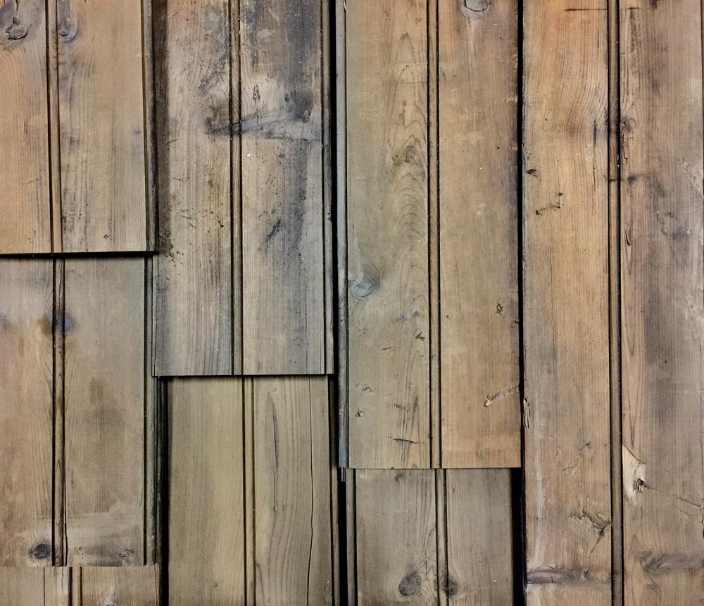Original White Pine Beaded Paneling