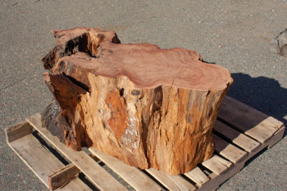 Salvaged Redwood Base