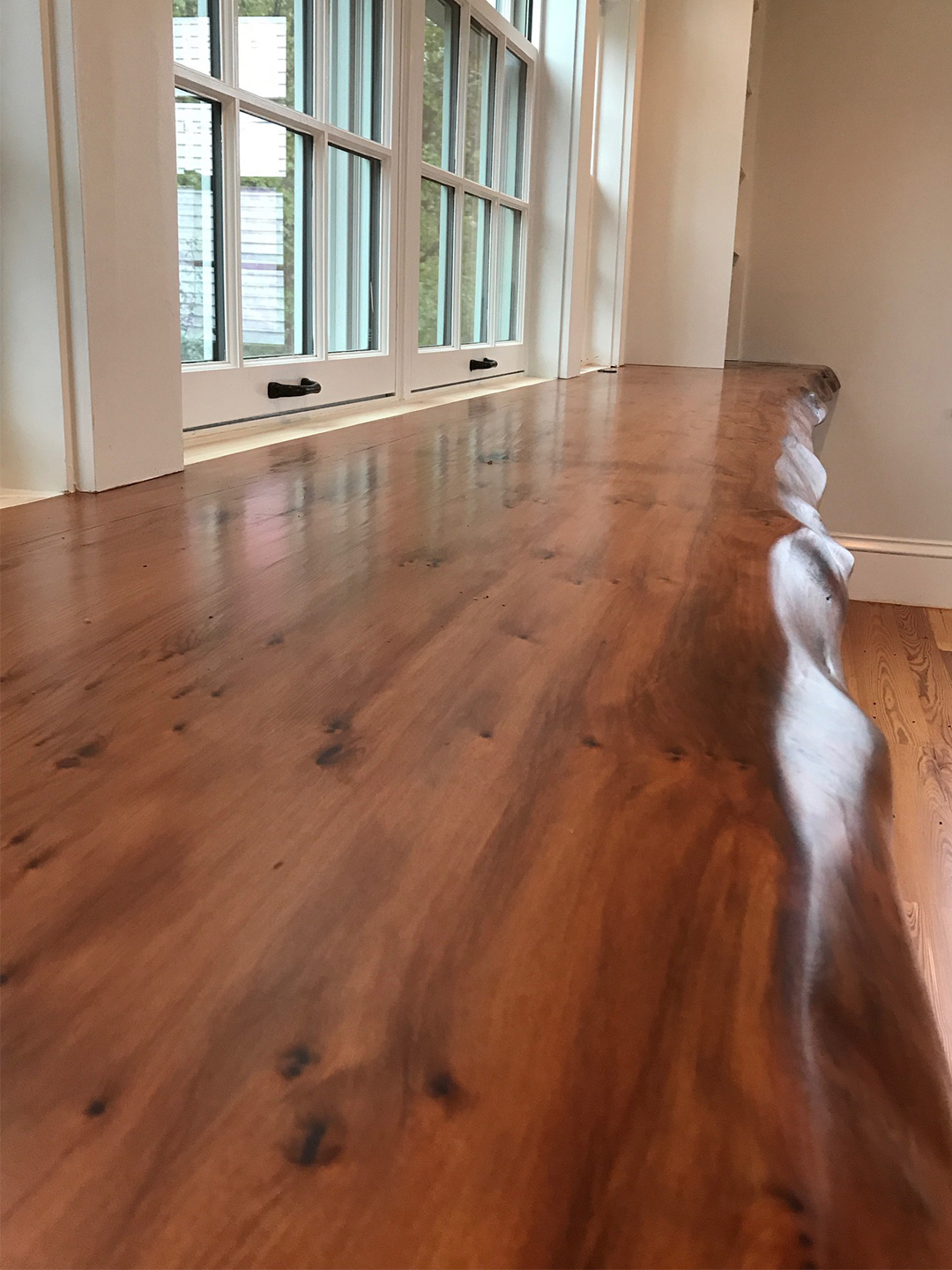 Longleaf lumber reclaimed heart pine redwood Salvaged pine flooring