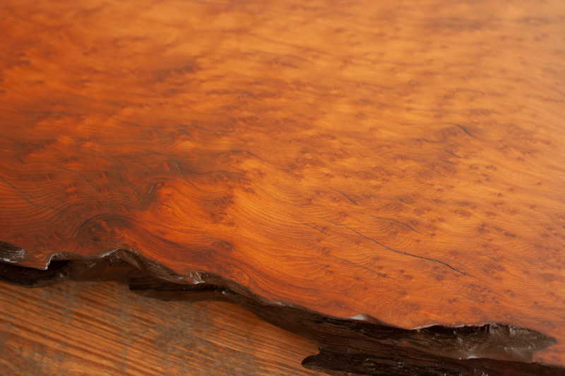 Longleaf Lumber Reclaimed Redwood Slabs