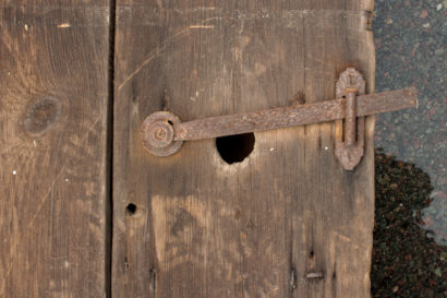 Salvaged Antique Barn Door Latch
