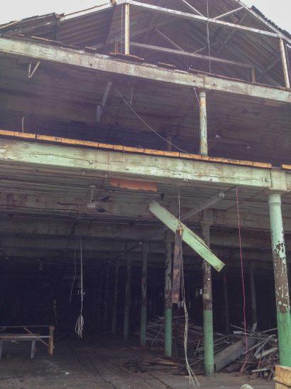 Salvaged Wood at 109 Lyman Street, Holyoke, MA