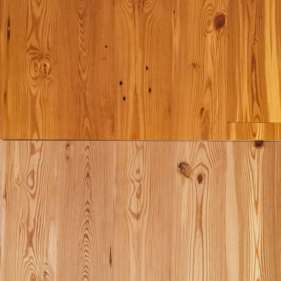 Reclaimed Wide Heart Pine Flooring Select Flatsawn