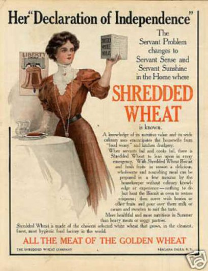 Shredded Wheat Advertisement