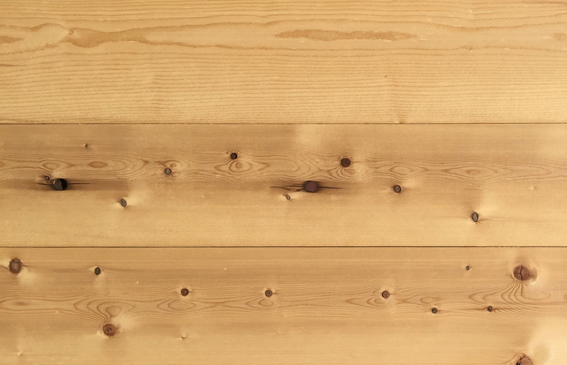 Reclaimed Spruce Paneling from Beams Salvaged from Robertson Paper Co. in Bellows Falls, Vermont