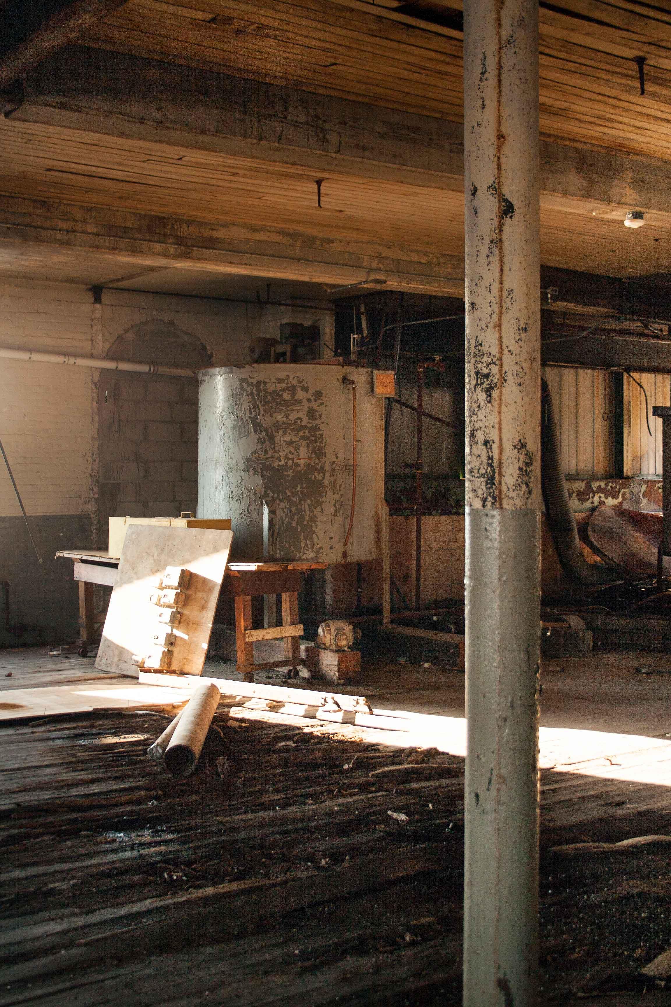 Longleaf Lumber Texon Mill Building