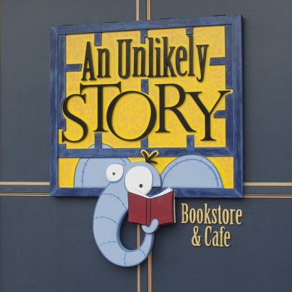 An Unlikely Story bookstore and cafe in Plainville, MA