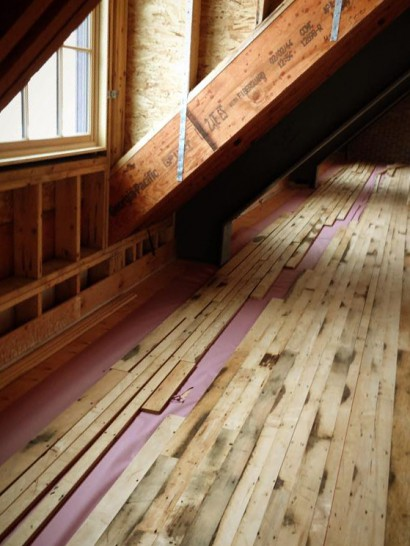 An Unlikely Story Bookstore Reclaimed Maple Flooring