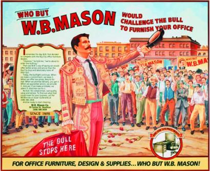 W.B. Mason Advertisement