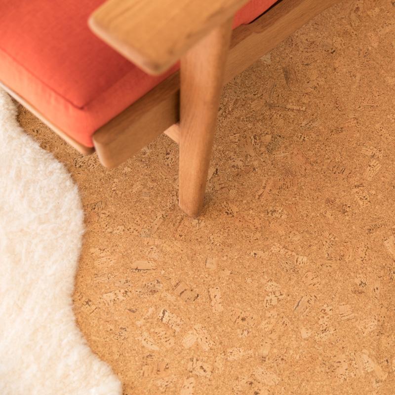Cork Floating Floor - WE Cork Eco-Nomical Series Natural Color