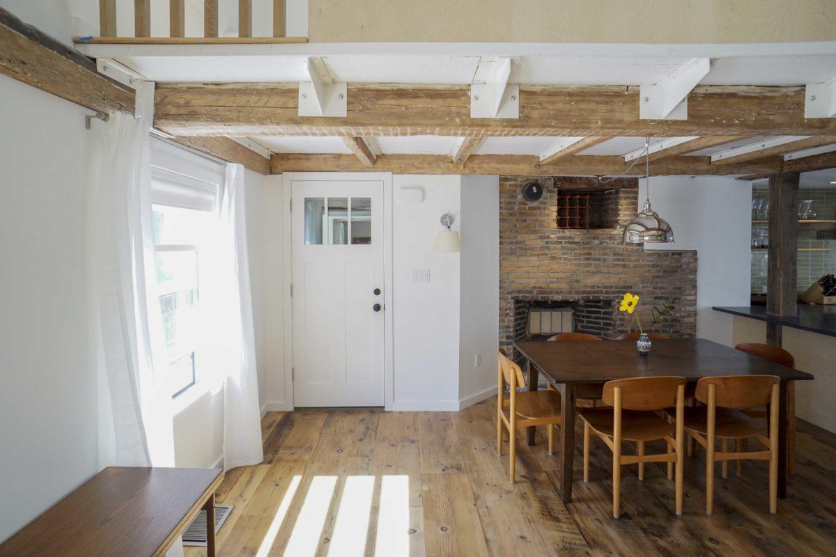 Reclaimed Wide Plank Eastern White Pine Flooring